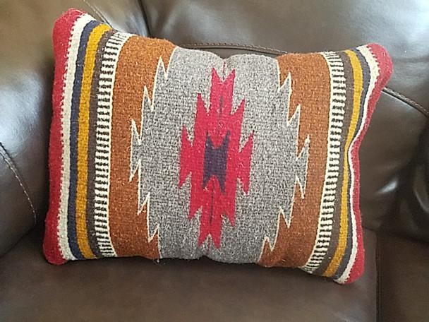 Southwestern Wool Zapotec Pillow