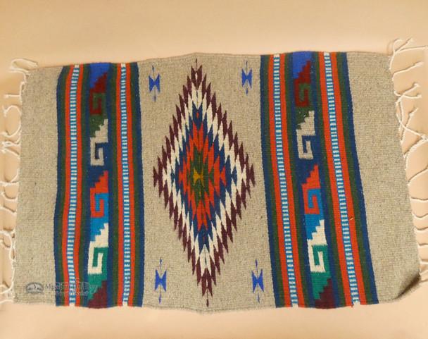 """Southwestern Zapotec Throw Rug 23""""x39"""""""