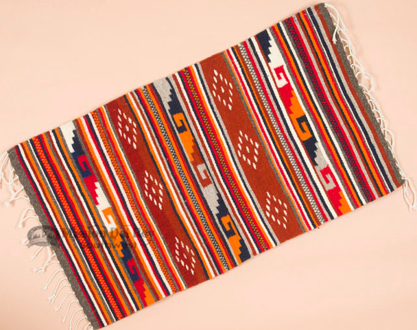 Small Southwestern Area Rug -Zapotec