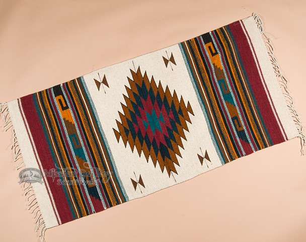Mexican Zapotec Indian Rug