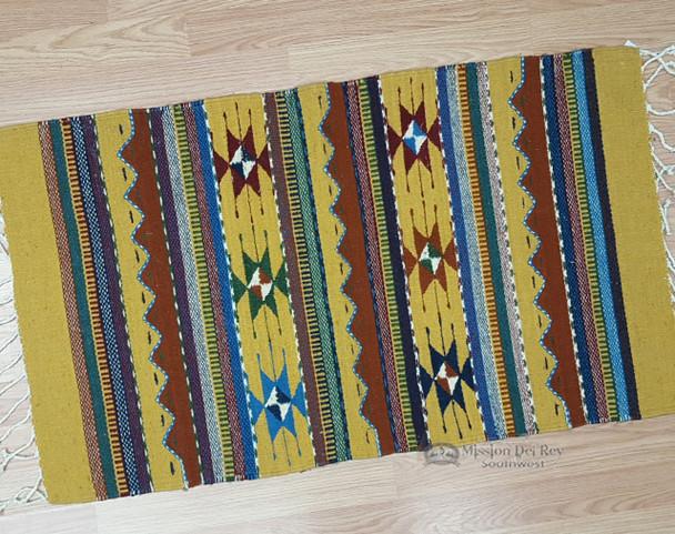 Zapotec Wool Small Rug - 23x39