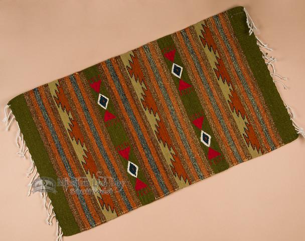 "Southwest Zapotec Rug 23""x39"" (90)"