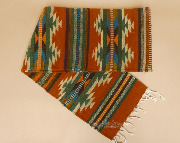 Wool Zapotec Hand Woven Table Runner