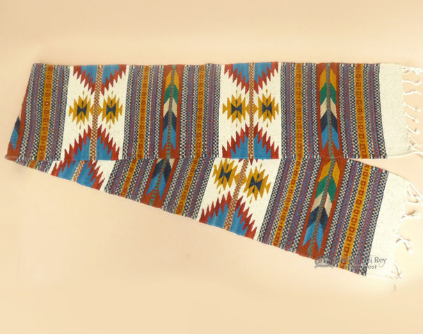 Hand Woven Wool Zapotec Table Runner