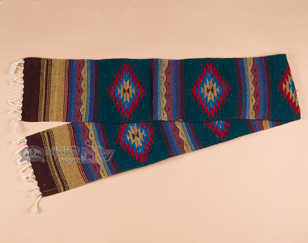 Hand Woven Mexican Style Table Runner