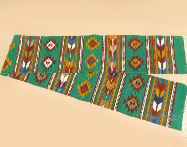 """Indian Zapotec Table Runner 10""""x80"""" (a41)"""
