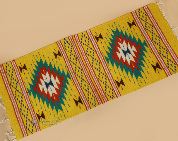 Wool Woven Zapotec Table Runner