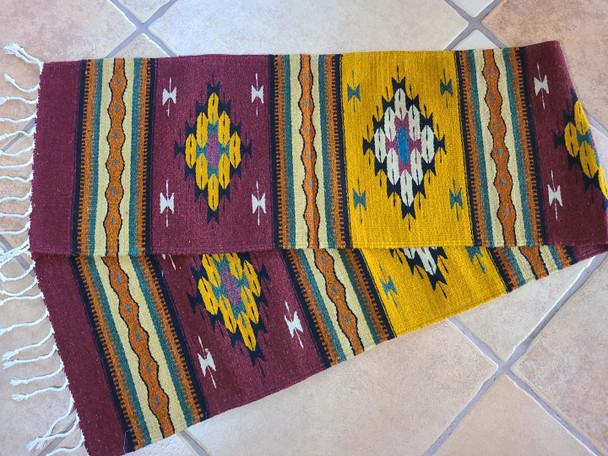 Zapotec Table Runner - Wool 15x80