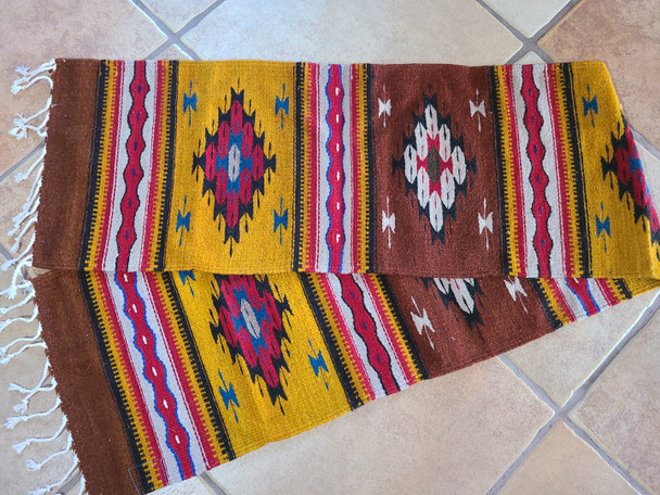 Rustic Style Hand Woven Table Runner