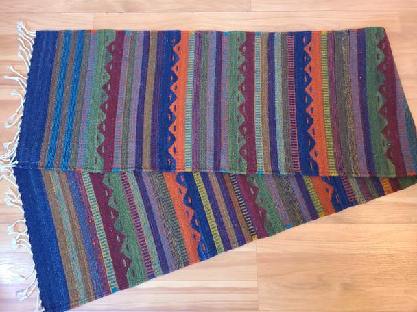 "Zapotec Wool Table Runner 15""x80"""
