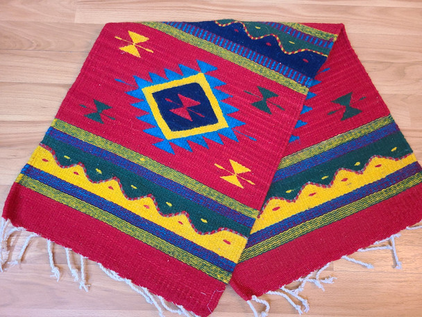 Southwest Zapotec Wool Table Runner