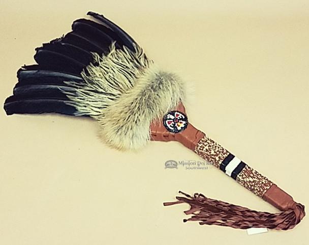 American Indian Pow Wow Dance Fan