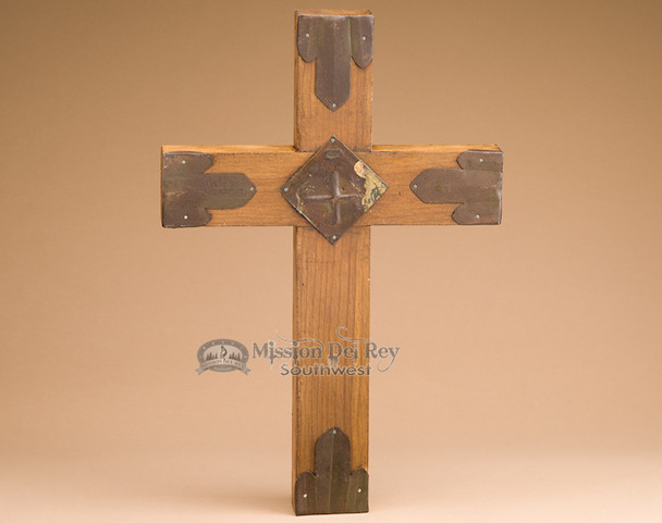 Rustic Hand Crafted Wooden Wall Cross