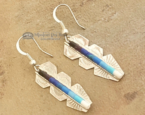 Beautiful handcrafted silver earrings