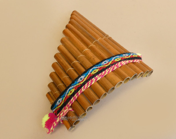 Andean Indian Pan Flute