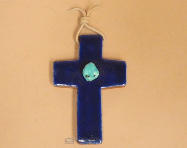 Terra Cotta Tile Ceramic Cross