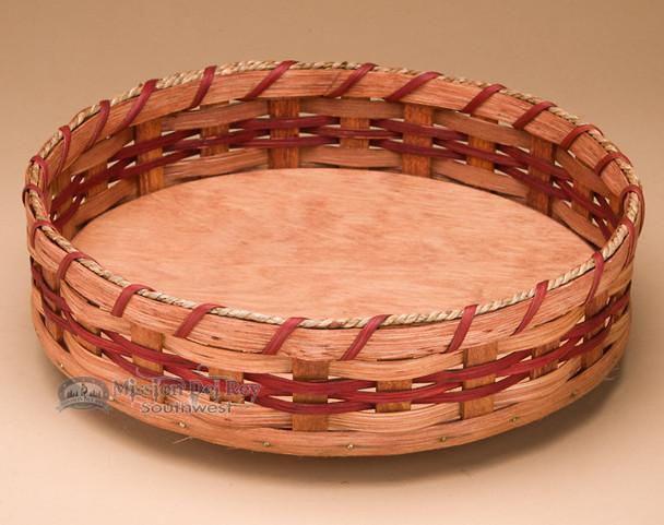 Lazy Susan Amish Basket - Red
