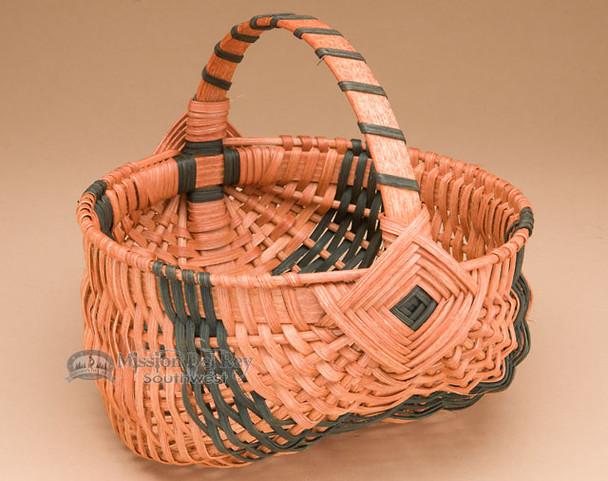 Small Amish Egg Basket - Green