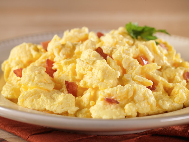 Scrambled Eggs w/ Bacon