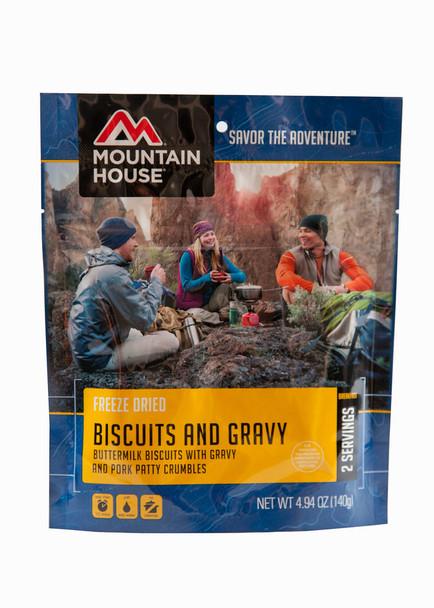 Freeze Dried Biscuits & Gravy
