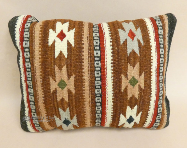 Southwest Zapotec Indian Wool Pillow
