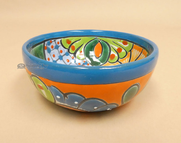 Southwest Style Talavera Salsa Bowl