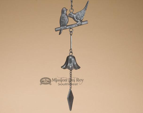 "Southwest Metal Art Wind Bell 26"" -Song Birds"