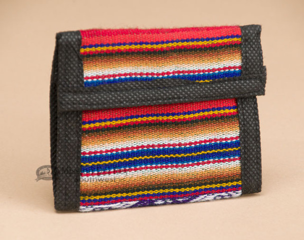 Striped Southwestern Wallet