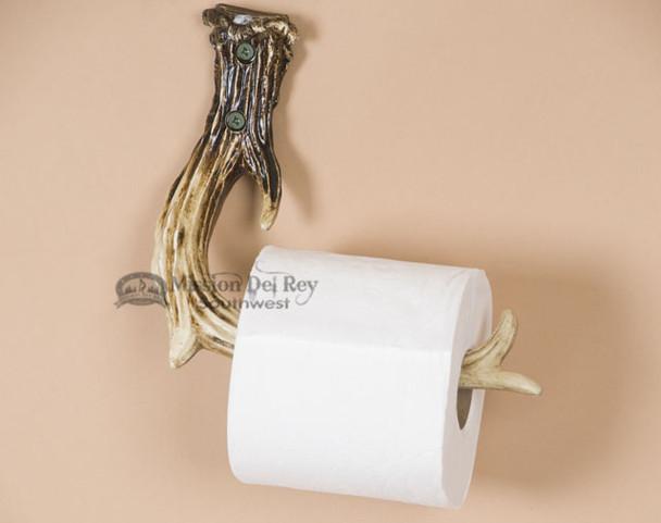 Lodge Faux Antler Toilet Paper Holder