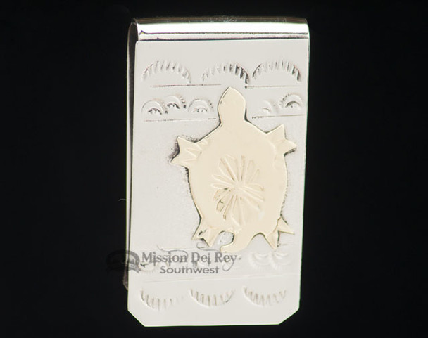 Navajo Indian Southwest Money Clip - Turtle