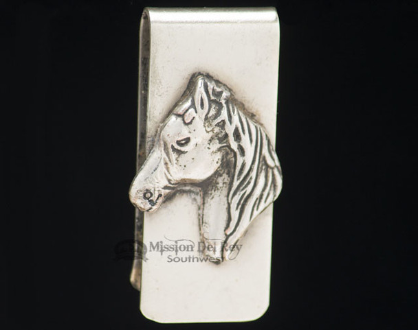 Southwest Navajo Indian Money Clip - Horse