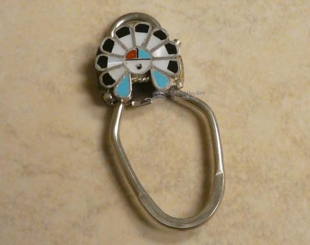 """Southwestern Zuni Indian Key Fob 2"""""""