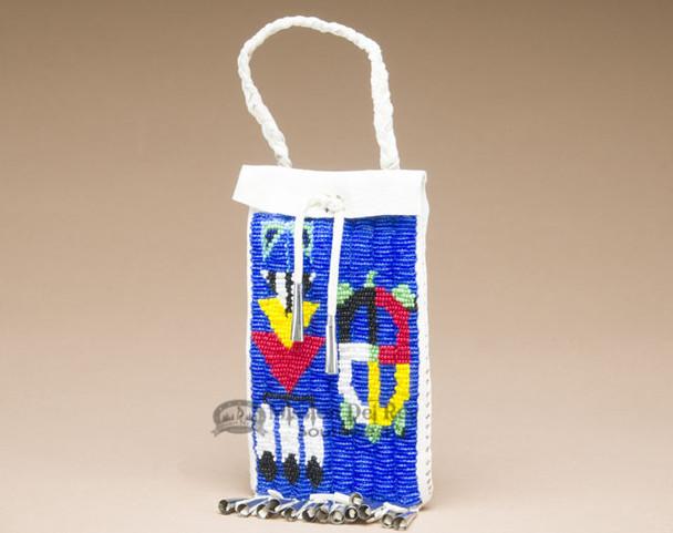 Native American Sioux Beaded Medicine Bag