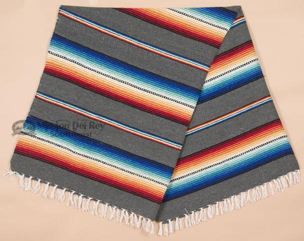 Mexican Serape Style Blanket