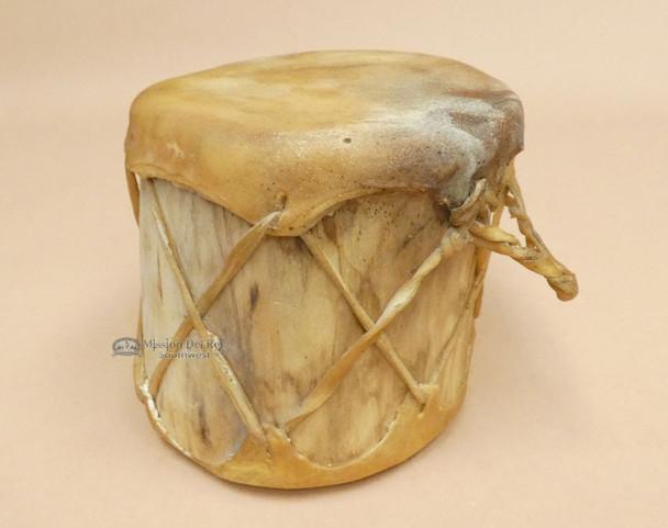 Native Style Rustic Log Drum