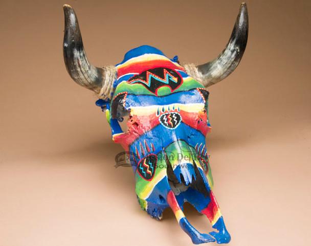 Southwestern Spirit Bear Steer Skull