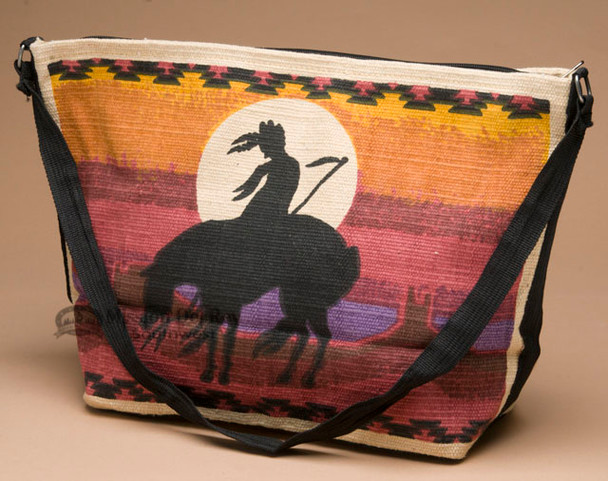 Native Design Cotton Purse -End Of The Trail