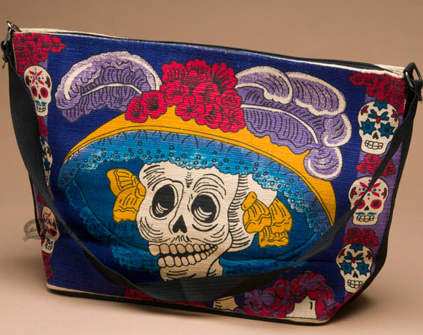 Day of the Dead Purse -Katrina Hat