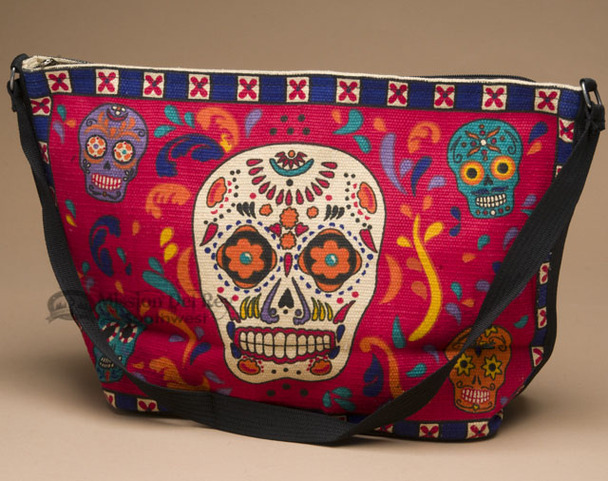 Southwest Day of the Dead Purse -Skull