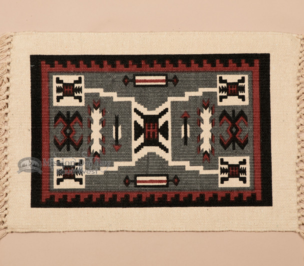Southwest Cotton Placemat 13x19 -Navajo Storm