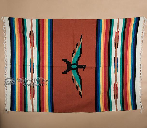 Thunderbird Blanket 5'x7' -Rust