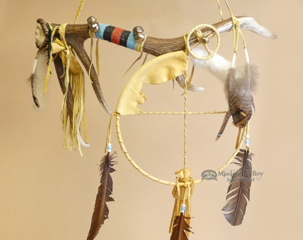 Tigua Indian Medicine Stick - Elk Antler