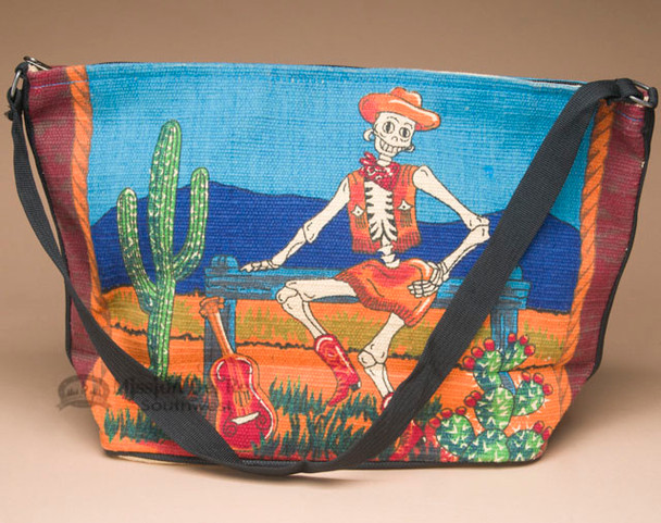 Southwestern Cotton Purse -Cowgirl