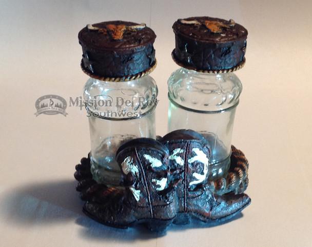 Western Cowboy Boot Salt & Pepper Shakers