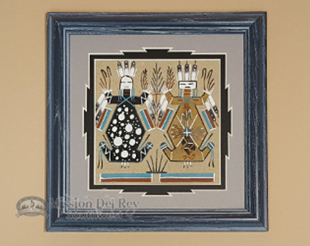 Navajo Sand Painting -Mother Earth, Father Sky