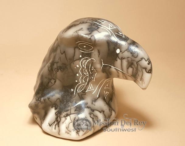 Horse Hair Navajo Pottery -Eagle