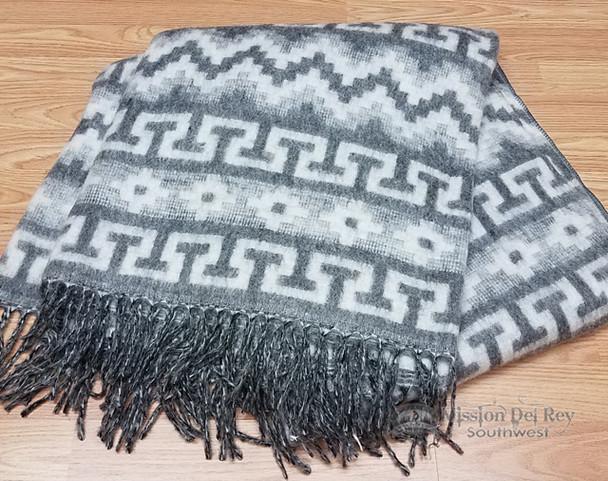Soft Alpaca Blanket -Grey