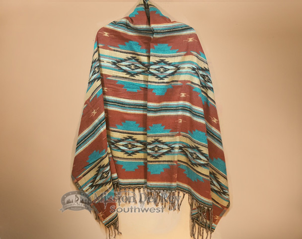 Narrow Southwestern Wrap 27x72