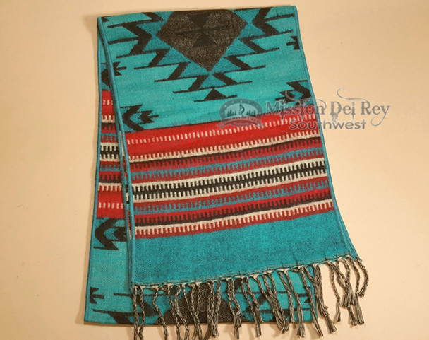Colorful Southwestern Scarf