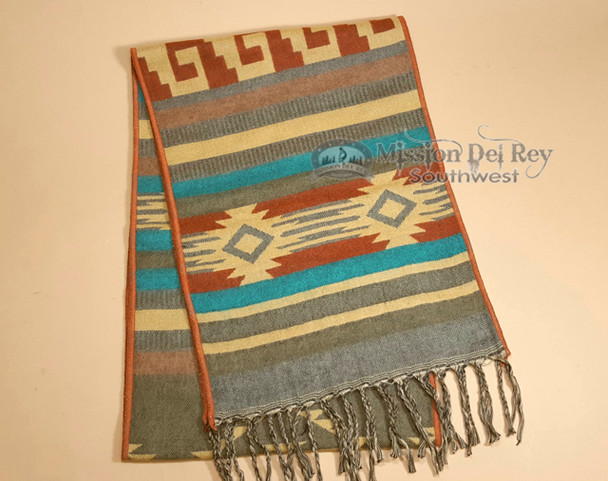 Classic Woven Southwestern Scarf